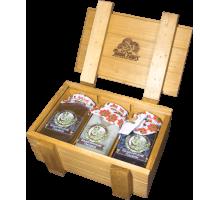 Подарочный набор c мёдом HONEY BOXE PASEKI 1
