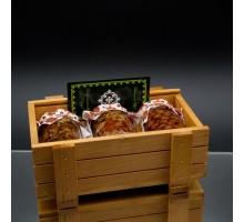 Подарочный набор премиум c мёдом HONEY BOXE PASEKI 3