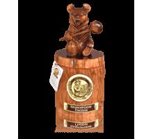 Подарок с липовым мёдом Медведь на пне 500 гр.