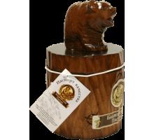 Подарок с мёдом Медведь на пне 300 гр.