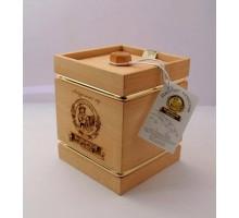 Подарок с мёдом Бочонок тёмный 4 грани 300 гр.