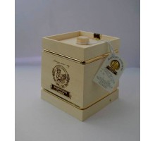 Подарок с мёдом Кадушка белая 4 грани 500 гр.