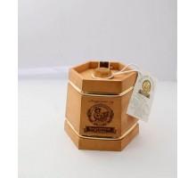 Подарок с мёдом Кадушка тёмная 6 граней 500 гр.