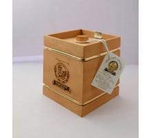 Подарок с мёдом Кадушка тёмная 4 грани 500 гр.