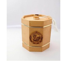 Подарок с мёдом Бочонок тёмный 8 граней 300 гр.