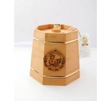 Подарок с мёдом Кадушка тёмная 8 граней 500 гр.