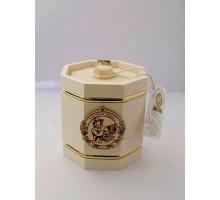 Подарок с мёдом Бочонок белый 8 граней 300 гр.