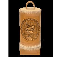 Подарок с мёдом Туес  Салават Юлаев с липовым мёдом 400гр.