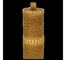 Подарок с медом Туес Оленята  120гр.
