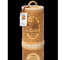 Подарок с мёдом Туес  Зима в лесу  500гр.