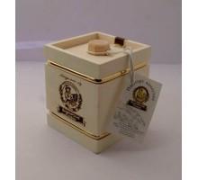Подарок с мёдом Бочонок белый 4 грани 300 гр.