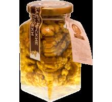 Цветочный мёд с грецким орехом, 220 гр.