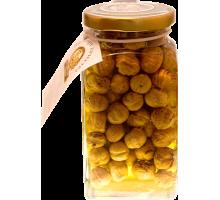 Цветочный мёд с фундуком, 180 гр. «Горшочек»