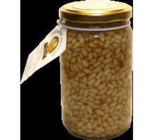 Цветочный мёд с кедровым орехом 220 гр