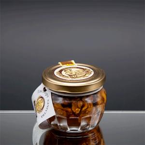 """""""Горшочек"""" цветочный мед с грецким орехом 180 гр"""