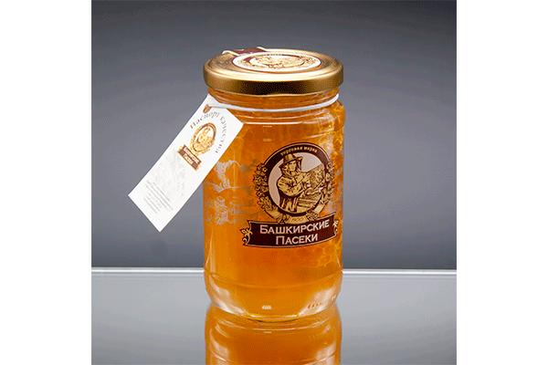 """""""Пасеки-500"""" липовый мёд с сотой 500 гр"""