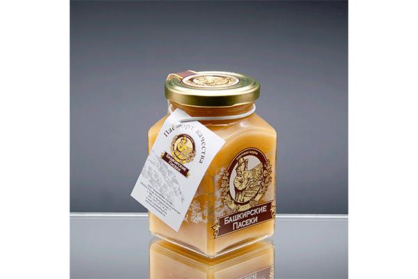 """""""Призма-350"""" липовый мед 350 гр ⠀⠀⠀⠀"""