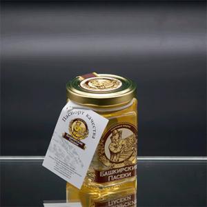"""""""Сотка-250"""" ⠀⠀⠀ липовый мед 250 гр"""