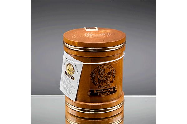 Чиляк темный с обручем с липовым медом