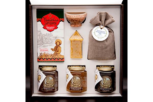 Набор подарочный «Куштанаш» № 10 (большой венге)