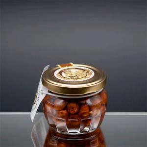 """""""Горшочек"""" цветочный мед с фундуком 180 гр"""