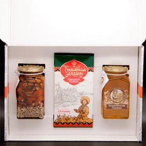 Набор подарочный «Куштанаш» № 4 (малый оранж)