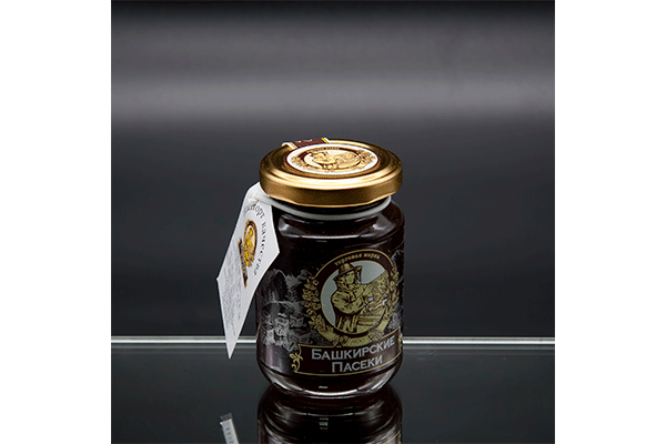 """""""Пасеки-250"""" гречишный мёд 250 гр"""