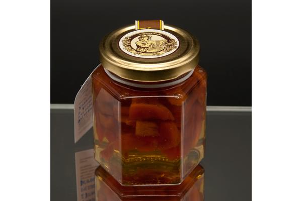 """""""Сотка"""" цветочный мед с курагой 250 гр"""