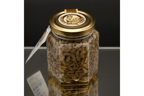 """""""Сотка"""" цветочный мед с семенами подсолнечника 220 гр"""