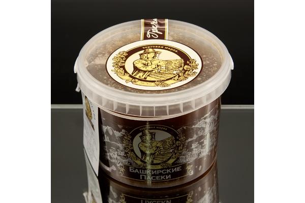 Ведро с гречишным медом 0,7 кг