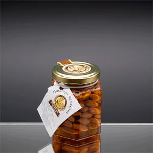 «Сотка» цветочный мед с миндалем 220 гр