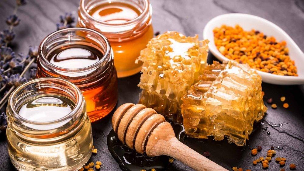 различные виды меда