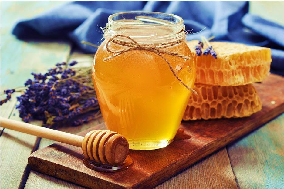 цветочный мед с сотами